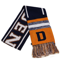 Denver City Hunter Adult Size Blending Pattern Winter Knit Scarf Orange/... - £10.72 GBP