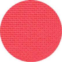 Riviera Coral 16ct Aida 36x25 cross stitch fabric Wichelt - $22.05