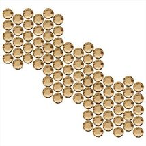SWAROVSKI ELEMENTS Crystal Rhinestones #2058 Enhanced SS12 Golden Shadow... - $5.93