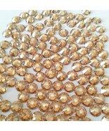 GOLDEN SHADOW Crystal Rhinestones Flatback 144 SWAROVSKI 4.8mm 20ss ss20 - $12.62