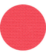 Riviera Coral 16ct Aida 18x25 cross stitch fabric Wichelt - $11.00