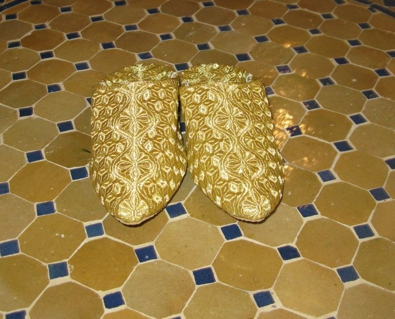 94507cb42ad Moroccan Slippers gold -Gold Moroccan and 50 similar items