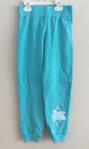 New Disney Frozen Elsa SNOW QUEEN Blue Aqua Sweat Pants Bottoms Size 6X - $14.49