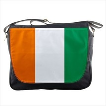 Ivory Coast Cote Flag Messenger Bag - $37.25