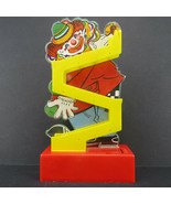 Vintage Plastic Clown Walking Penny Bank by Avlon, 1980s?, No Coin Door - $69.95