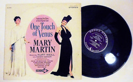 Mary Martin: One Touch of Venus Original Cast Recording Vinyl Record 196... - $11.48