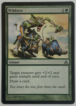 Wildsize, Magic The Gathering MTG Card Guildpact Set LP Light Play - $3.29