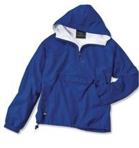 Royal Blue Charles Rivers Apparel Rain Jacket - $27.91