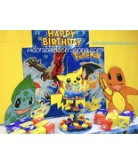 3 feet Wood Pokemon  Birthday. Photo Props Stan... - $49.99