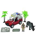Rhinoceros Rescue Unit Toy Truck Set - $14.95