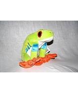 Red Eyed Green Tree Frog Stuffed Animal - $13.95