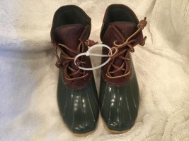 New Without Box  7.5 M Sperry Top-Sider Women's Saltwater Rain Boot Tan/... - $54.44