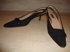 Stylish Charcoal Gray Kade Spade Slingbacks - Worn Once! - $69.30