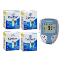 Free Contour Meter w/purchase of 200 Test Strips - $74.95