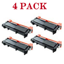 4 High Yield TN660 TN630 Black Toner Cartridge HL-L2300D For Brother DCP... - $47.99