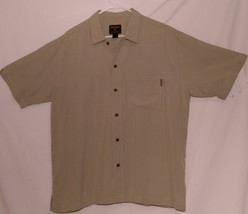 Woolrich Men's Shirt, CottonBlend, Short Sleeves,        Size=Large - $9.99