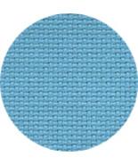 Riviera Aqua 16ct Aida 18x25 cross stitch fabri... - $11.00