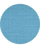 Riviera Aqua 16ct Aida 12x18 cross stitch fabri... - $5.55