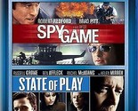 Double Feature: Spy Game / State of Play [Blu-ray]