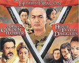 Crouching Tiger Hidden Dragon / Curse of the Golden Flower / House of Flying ...