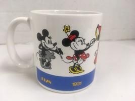 Minnie Mouse Mug Ceramic by Applause Vintage HTF - $10.58