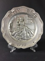Vintage Sexton Betsy Ross 1777 Pewter Hanging W... - $26.17