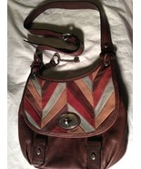 Brown Leather Fossil Purse  ZB5328 - $49.49