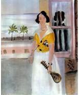 MATISSE 1939 LITHOGRAPH w/COA unique GIFT Exclusive Henri Matisse print ... - $195.00