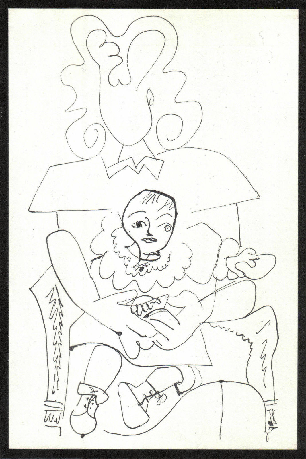 PABLO PICASSO 1956 LITHOGRAPH w/COA. CLASSIC £ € UNIQUE, MUST HAVE VERY RARE ART
