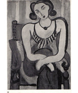 MATISSE 1935 SIGNED LITHOGRAPH coa $ COOL INVESTMENT Henri Matisse VERY ... - $196.04