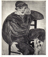 HENRI MATISSE 1935 SIGNED LITHOGRAPH with coa YOUNG SAILOR Matisse VERY ... - $179.00