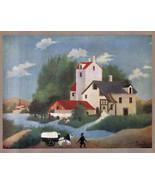 ROUSSEAU 1935 LITHO PRINT w/COA £ € investment in Henri-Julien Rousseau ... - $159.00