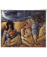 GROMAIRE 1942 GRAVURE PRINT w/COA history £ MAGNIFICENT Marcel Gromaire ... - $189.00
