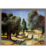 André Derain 1935 LITHO PRINT w/COA. unique gift or investment in VERY R... - $169.00