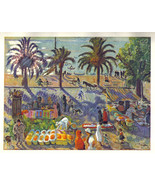 Jean Puy 1942 GRAVURE PRINT with COA. £ unique present of Super Fauvist ... - $179.00