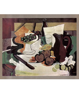 GEORGES BRAQUE 1935 LITHO PRINT w/COA invest in unique £ QUITE HISTORIC ... - $195.00