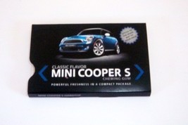 MINI Cooper S Chewing Gum-Mint in Package - $3.00