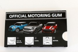 MINI Cooper Official Motoring Chewing Gum-Mint in Package--Let's Motor! - $5.00