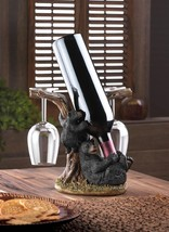 Black Bear Wine Bottle Holder   10016201   SMC - $29.95