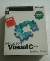 Microsoft Visual C++ Standard Edition Version 4.0 - $49.49