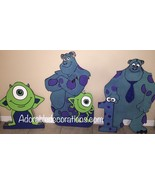 Monster Inc Birthday 3 feet Wood Standees : One... - $49.99