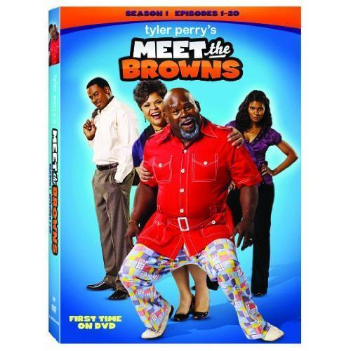 Meet The Browns: The Complete First Season 1 (DVD Set New) Tyler Perry TV Series