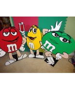 Chocolate Birthday Wood Standees  3 feet  Photo... - $49.99