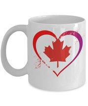 Love Canada.11 oz White Ceramic Coffee or Tea Mug - $15.99
