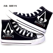 Assassin`s Creed cool Canvas shoes-C - $29.99