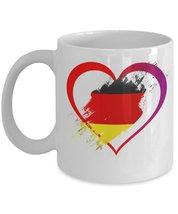 Love Germany.11 oz White Ceramic Coffee or Tea Mug - $15.99