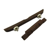 Accessorie Musiclily Rosewood Adjustable 114mm Compensated Mandolin Brid... - $16.64