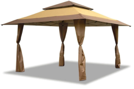 Z-Shade 13 x 13 Foot Instant Gazebo Canopy Tent Outdoor Patio Shelter, T... - $799.99