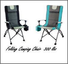 Camp Chair Outdoor Portable Fishing Sport Camping Stool Seat Travel Adju... - $42.97+