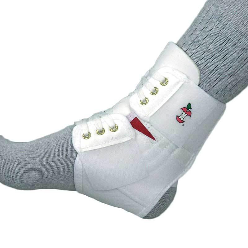 Powerwrap ankle white 0 large